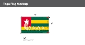 Togo Flags 6x10 foot