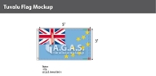 Tuvalu Flags 3x5 foot
