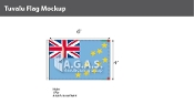 Tuvalu Flags 4x6 foot
