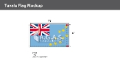 Tuvalu Flags 6x10 foot