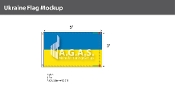 Ukraine Flags 3x5 foot