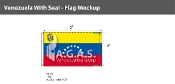 Venezuela Flags 3x5 foot (with seal)