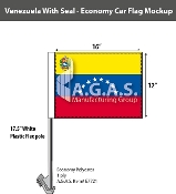 Venezuela Car Flags 12x16 inch Economy (with seal)