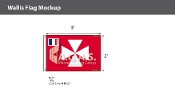 Wallis & Futuna Flags 2x3 foot