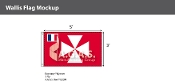 Wallis & Futuna Flags 3x5 foot