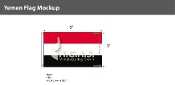 Yemen Flags 3x5 foot