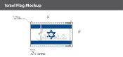 Israel Deluxe Flags 3x5 foot