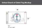United Church of Christ Flags 12x18 inch