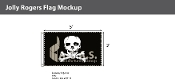Jolly Roger Flags 3x5 foot