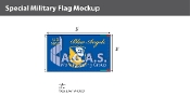 Blue Angels Flags 3x5 foot