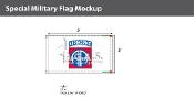 82nd Airborne Flags 3x5 foot