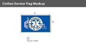 EMS Flags 3x5 foot