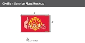 Fire Department Flags 3x5 foot