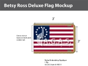 Betsy Ross Deluxe Flags 2x3 foot