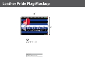 Leather Pride Deluxe Flag 4'X6'
