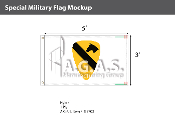 1st Cavalry Flags 3x5 foot