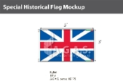 British Union Flags 3x5 foot