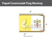 Papal Ceremonial Flags 4x6 foot