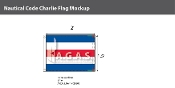 Charlie Deluxe Flags 1.5x2 foot