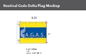 Delta Deluxe Flags 1x1.25 foot