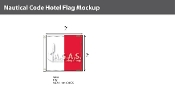 Hotel Deluxe Flags 2x2 foot