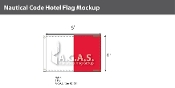 Hotel Deluxe Flags 4x6 foot