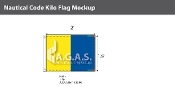 Kilo Deluxe Flags 1.5x2 foot