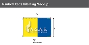 Kilo Deluxe Flags 4x6 foot