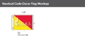 Oscar Deluxe Flags 1x1.25 foot