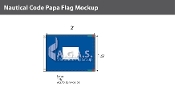 Papa Deluxe Flags 1.5x2 foot