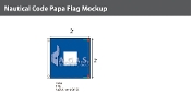 Papa Deluxe Flags 2x2 foot