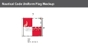 Uniform Deluxe Flags 2x2 foot