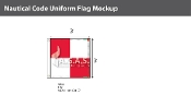 Uniform Deluxe Flags 3x3 foot