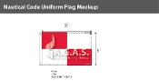 Uniform Deluxe Flags 4x6 foot