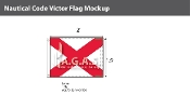Victor Deluxe Flags 1.5x2 foot