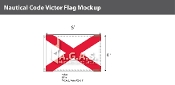 Victor Deluxe Flags 4x6 foot