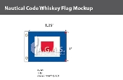 Whiskey Deluxe Flags 1x1.25 foot