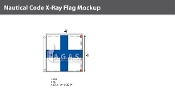 X-Ray Deluxe Flags 4x4 foot