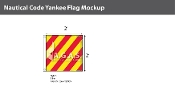 Yankee Deluxe Flags 2x2 foot