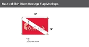 Skin Diver Deluxe Flags 20x30 inch