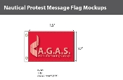 Protest Deluxe Flags 10x15 inch