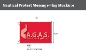 Protest Deluxe Flags 12x18 inch
