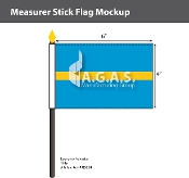 Measurer Stick Flags 4x6 inch