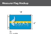 Measurer Deluxe Flags 12x18 inch