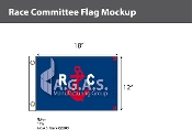 Race Commitee Deluxe Flags 12x18 inch