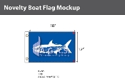 Tarpon Flags 12x18 inch