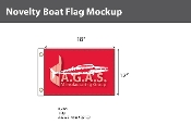 Wahoo Flags 12x18 inch