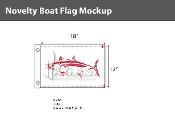 Albacore Flags 12x18 inch