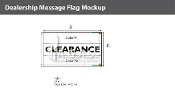Clearance Flags 3x5 foot (Choose Colors)