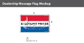 Discount Prices Flags 3x5 foot (Red, White & Blue)